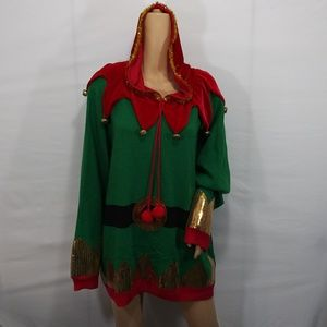 Holiday Time 3XL 24/26 Christmas Elf Sweater